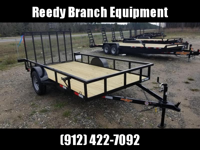 "New 76""x14' Down to Earth Utility Trailer"