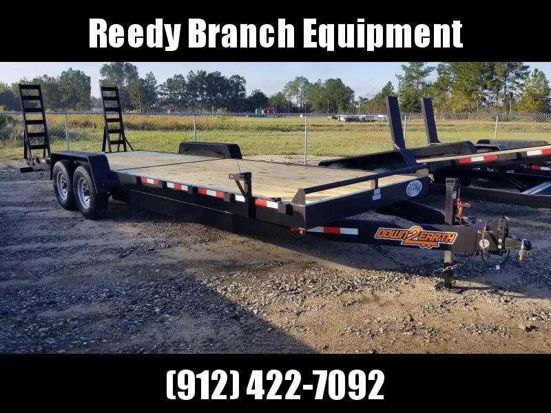 """New 82""""x24' Down to Earth Equipment Trailer (14K GVWR)"""
