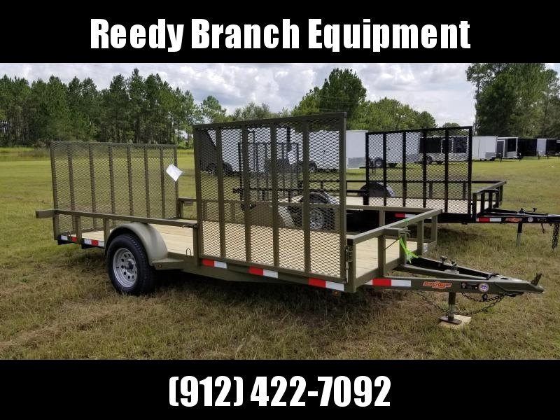 "New 82""x14' w/ Side Gate Down to Earth Utility Trailer!"