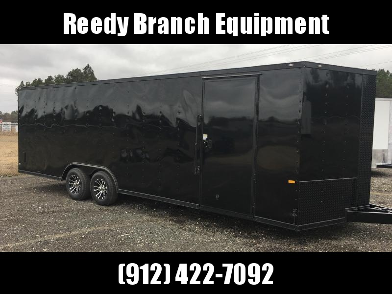 New 8.5x24 Blackout Elite (5200lb) Enclosed Car Hauler