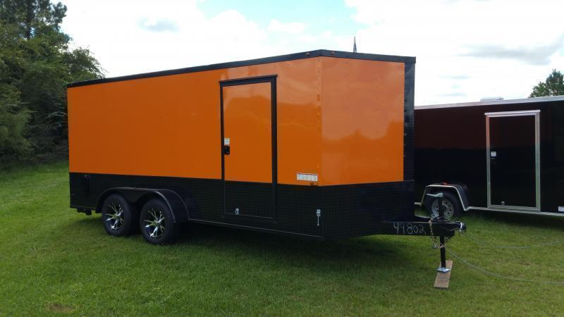 """2020 Down 2 Earth Trailers DTE7614G29 (76""""X14')Dovetail Utility Trailer"""