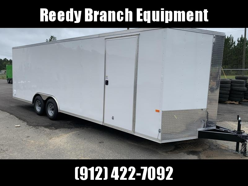 New 8.5x24 - 5200lb Enclosed Car Hauler. Tennessee Florida Alabama North Carolina South Carolina