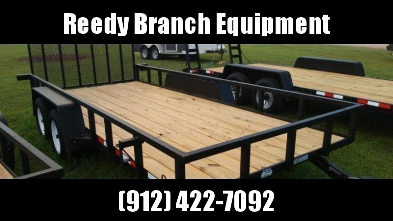 """New 82""""x16' Down to Earth Utility Trailer"""