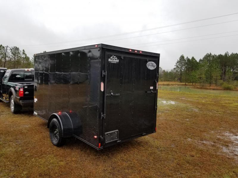 New 6x12SA Blackout Rock Solid Cargo  (Many upgrades)