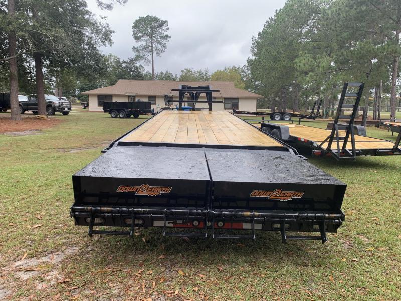 New 8'x30' 10 Ton Gooseneck Down to Earth Equipment Trailer