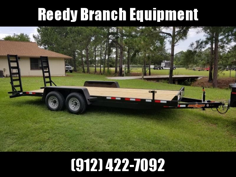 """New 82""""x20' 10K Equipment Trailer by Down to Earth"""
