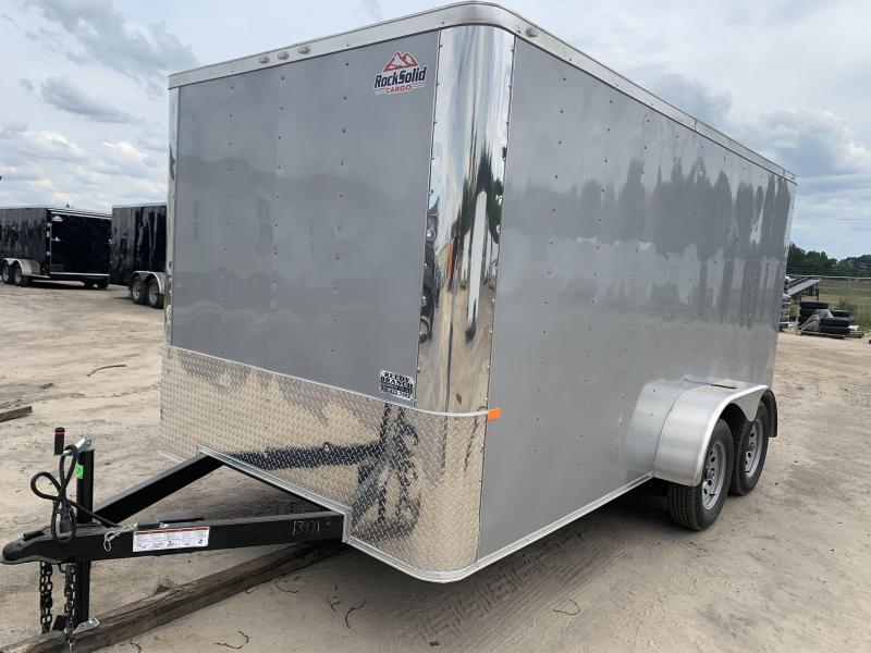 New 7x14 Silver Frost Flat Nose. Build your Custom Trailer with Flat Nose for no extra charge!