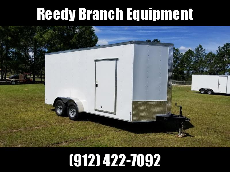 New 7x16 Enclosed Trailer (Barn Doors) Rock Solid Cargo