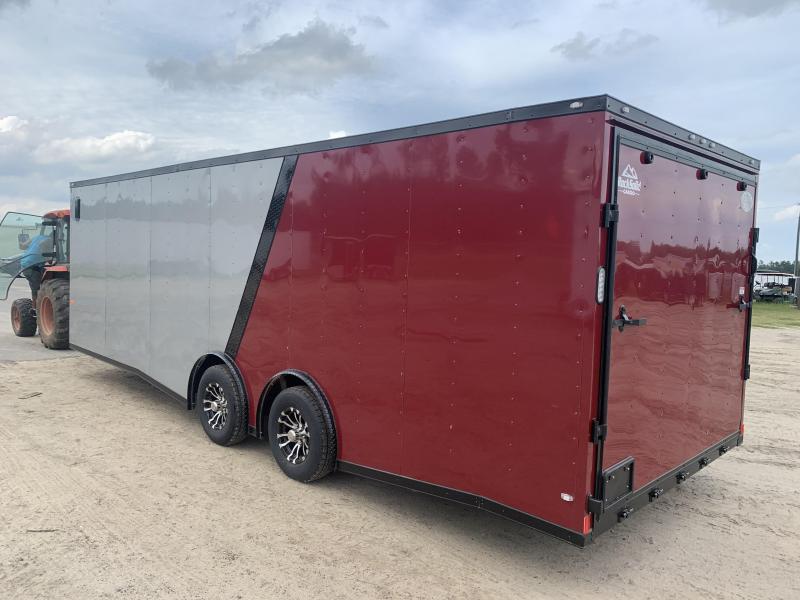 Upgrade to Spread Axle Enclosed Cargo Trailer $350