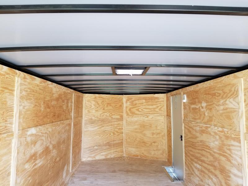 New 8.5x20 5200lb Enclosed Car Hauler Rock Solid Cargo