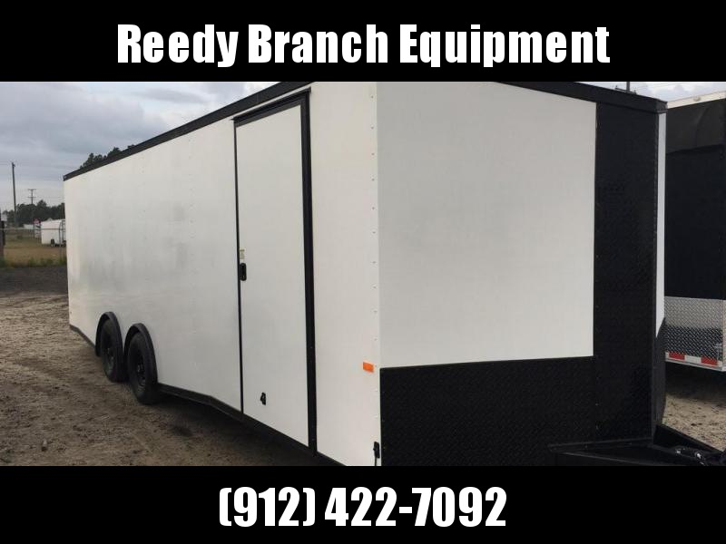 New 8.5x24-5200lb Spread Torsions Enclosed Car Hauler