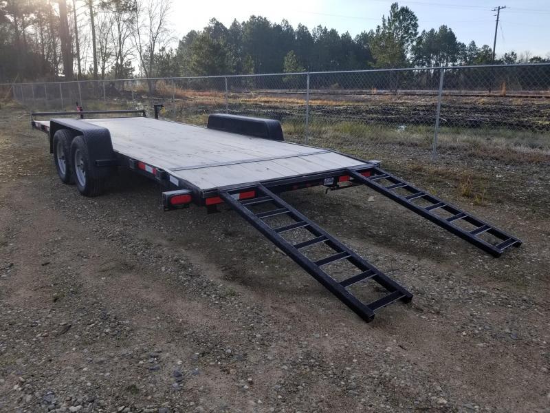 "New 82""x20' (7K GVWR) Down to Earth Car Hauler Trailer"