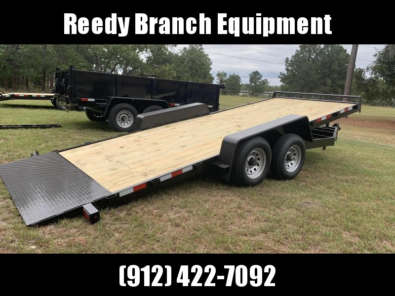 "New 82""x20' 10K -Gravity Tilt Down to Earth Equipment Trailer"