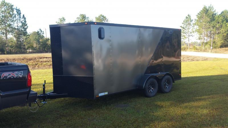 """New 102""""x24' Deckover Down to Earth Equipment Trailer (14K GVWR)"""