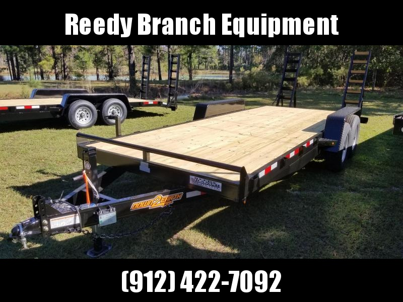 "2020 82""x20' (14K GVWR) Down 2 Earth Equipment Trailer"