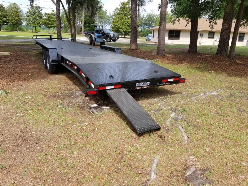 "New Down 2 Earth 82""x34' Steel Deck Car Hauler"