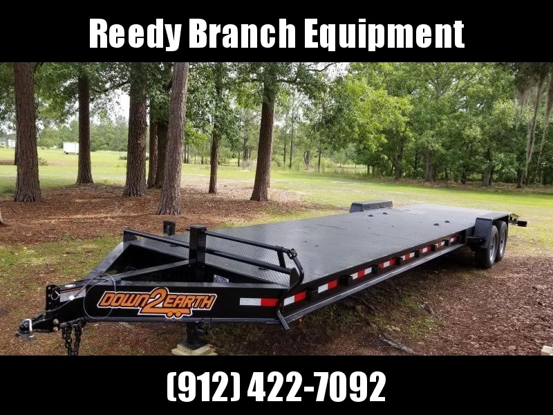 "New Down 2 Earth 82""x34' Steel Deck Car Hauler"