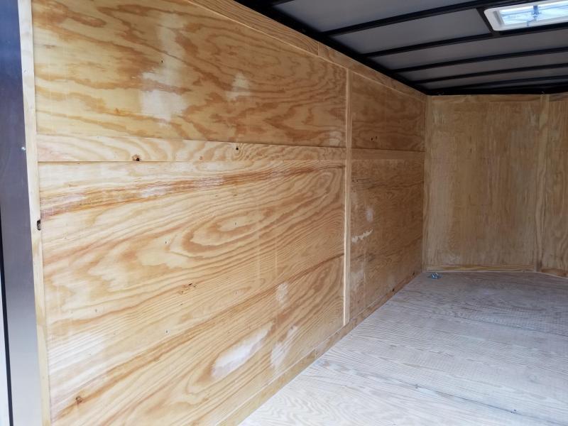 New 7x14 w/ Barn Doors