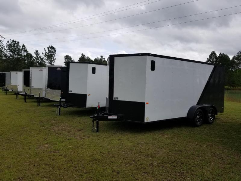 "New 78""x14' (7 Ton) Down to Earth Skidsteer/Forklift) Equipment Trailer 14K GVWR"
