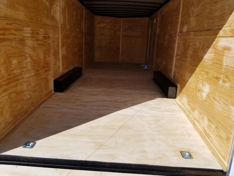 New 8.5x24-5200lb (7' Interior) Enclosed Trailer Rock Solid Cargo
