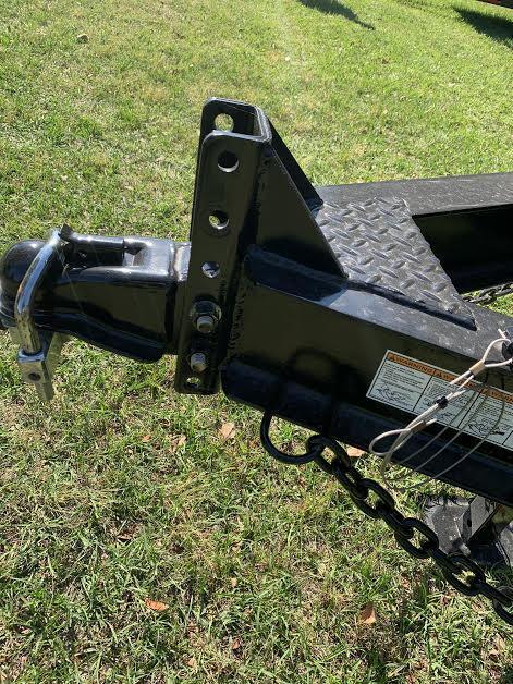 """New 82""""x20' 14K -Gravity Tilt Down to Earth Tilt Equipment Trailer"""