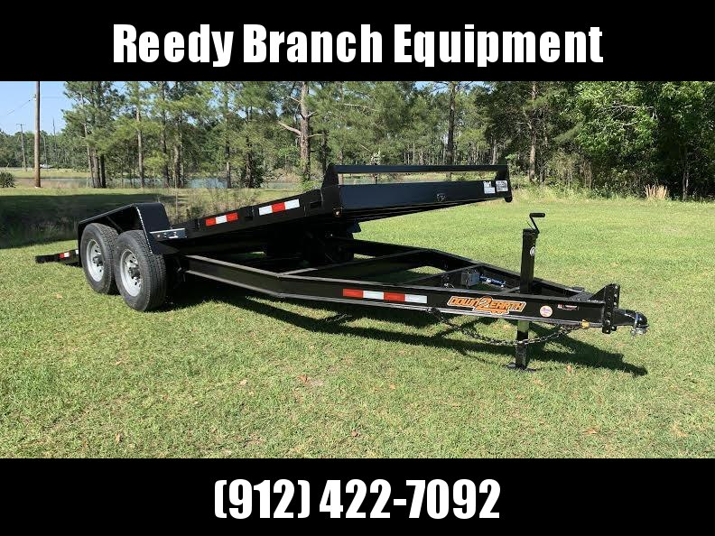 "New 82""x20' 14K -Gravity Tilt Down to Earth Tilt Equipment Trailer"