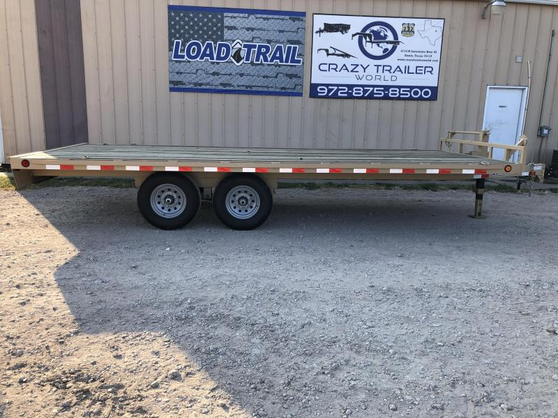 "102"" x 20' 2021 Load Trail DK14 Deckover Trailer"