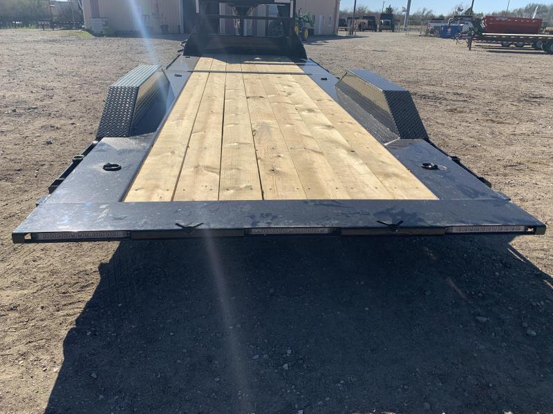 102 X 24' Tilt-N-Go Gooseneck Tandem Axle Tilt Deck I-Beam Frame
