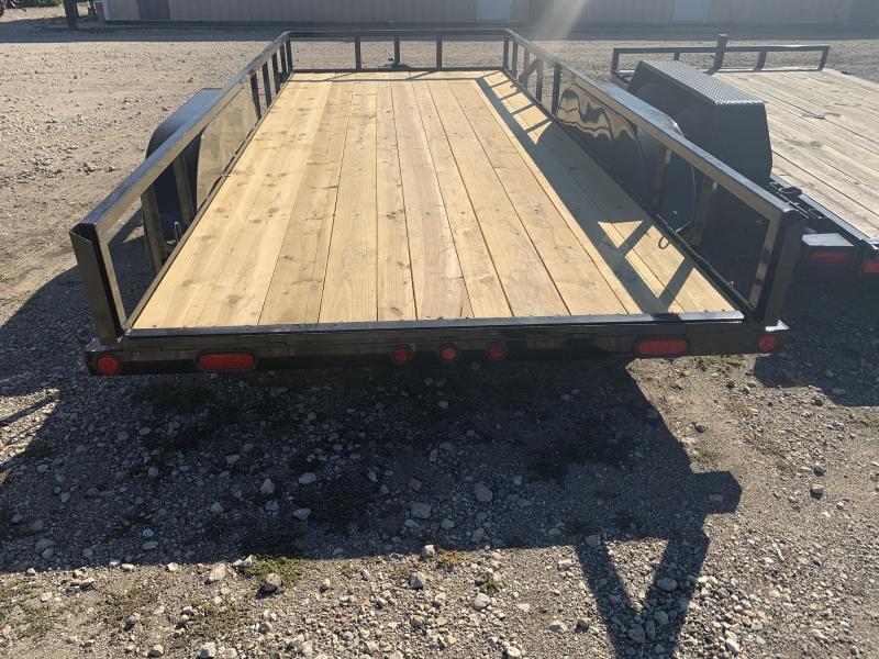 2021 Load Trail   77 x 16' Tandem Axle Utility (2 x 3 Angle Frame)
