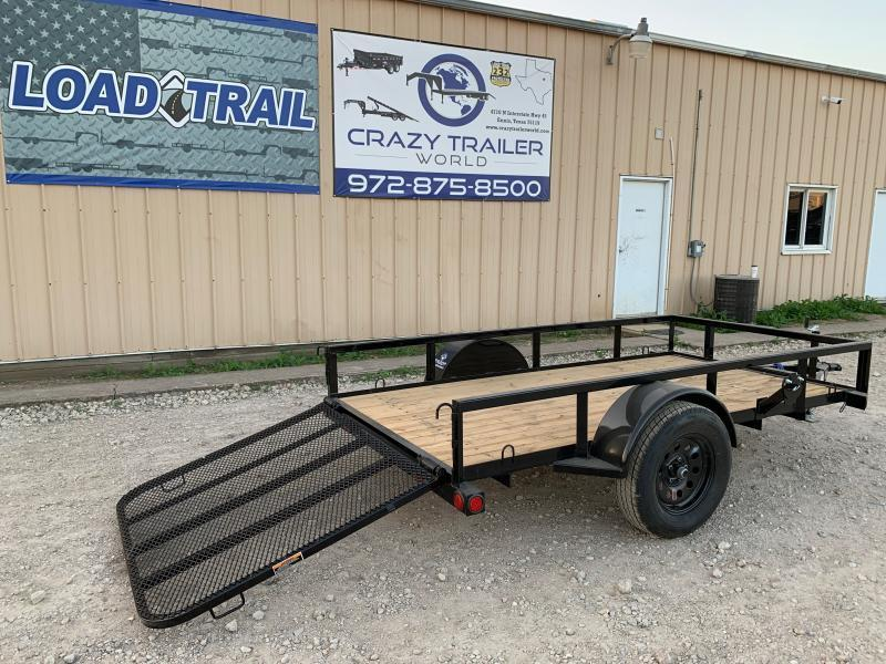60 x 10' Single Axle (2 x 3 Angle Frame)