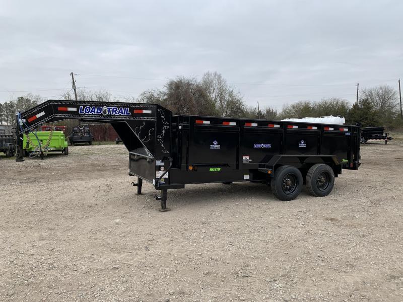 """DISCOUNT PRICE 83"""" x 16' Tandem Axle 12"""" I-Beam Heavy duty Gooseneck Dump"""
