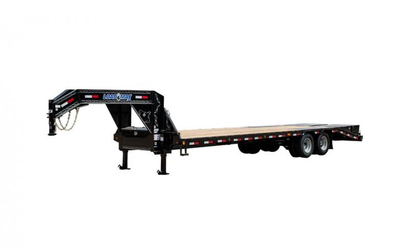 Low-Pro Flatbed W/ Duals Air ride W/ lift axle 2022 Load Trail