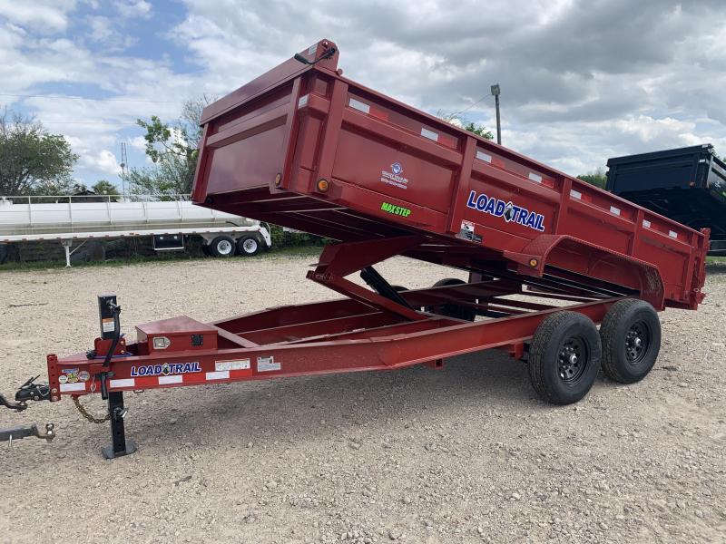 "83"" x 16' Tandem Axle Dump"