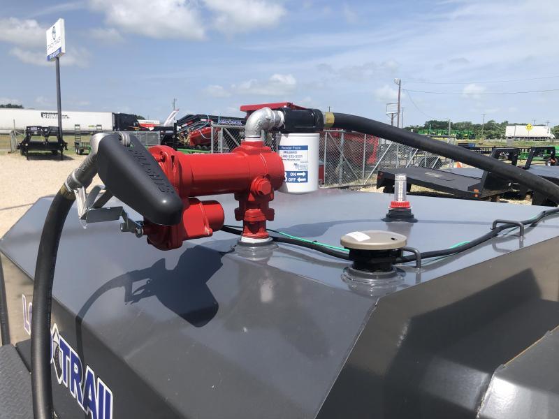 60 x 11' 550 Gallon Tandem Axle Tank Trailer
