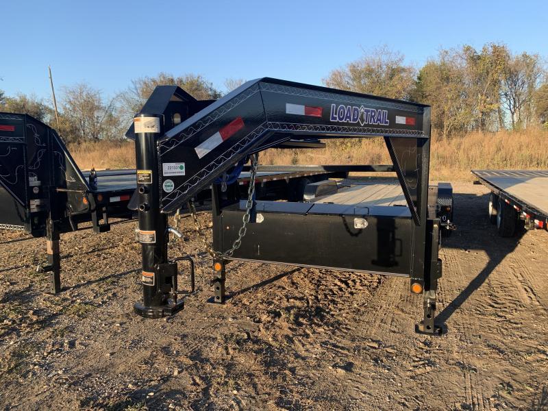 83 X 24' Tilt-N-Go Gooseneck Tandem Axle Tilt Deck I-Beam Frame