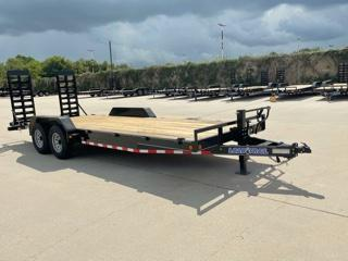 "2022 Load Trail 83""x22' Car Hauler W/ Fold Up Ramps"