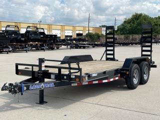 "2022 Load Trail 83""x16' Car Hauler W/ Fold Up Ramps"