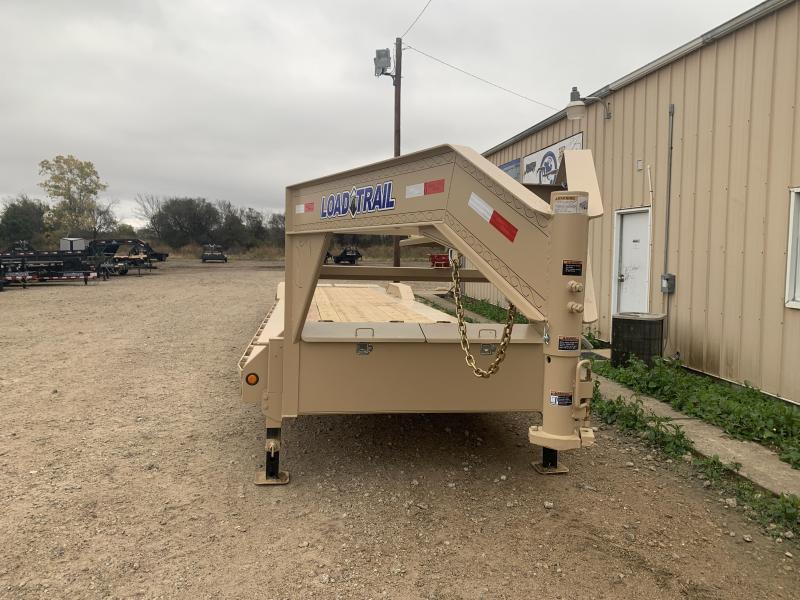 "102"" x 40' Tandem Axle 10"" I-Beam Frame Gooseneck Equipment Hauler"