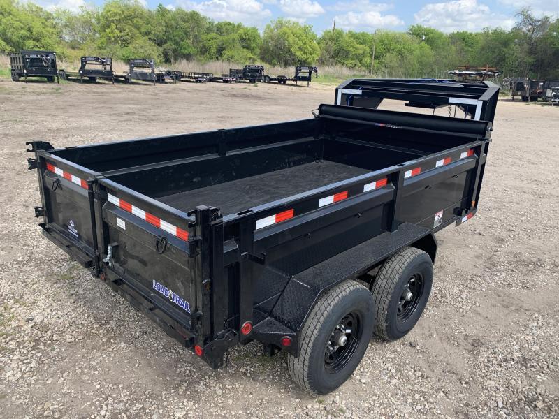 """83"""" x 12' Tandem Axle Gooseneck Dump"""