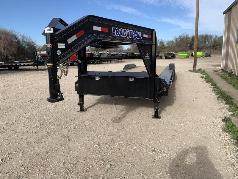 "102"" x 30' Tandem Axle 10"" I-Beam Frame Gooseneck Equipment Hauler"