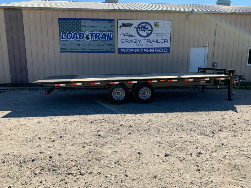 "102"" x 22' Tandem Pintle Hook Equipment Tilt Deck"