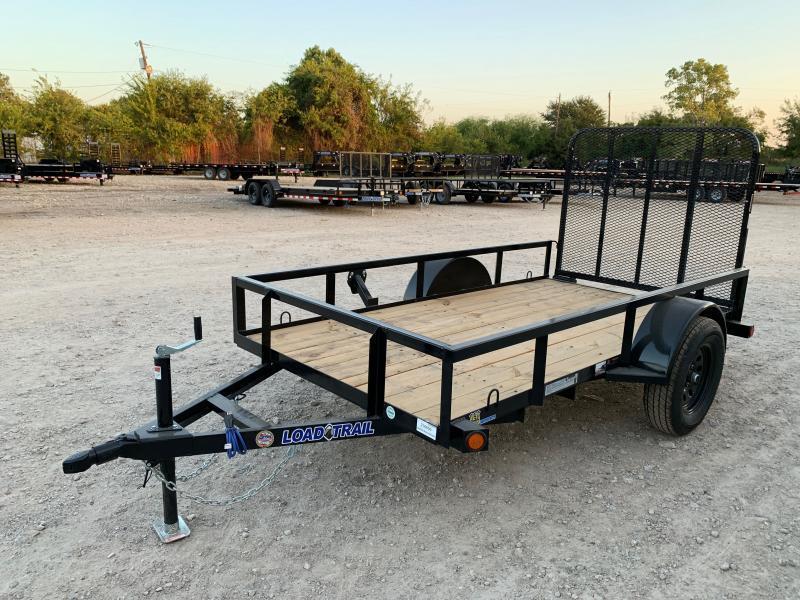 60 x 10' Single Axle (2 x 3 Angle Frame)