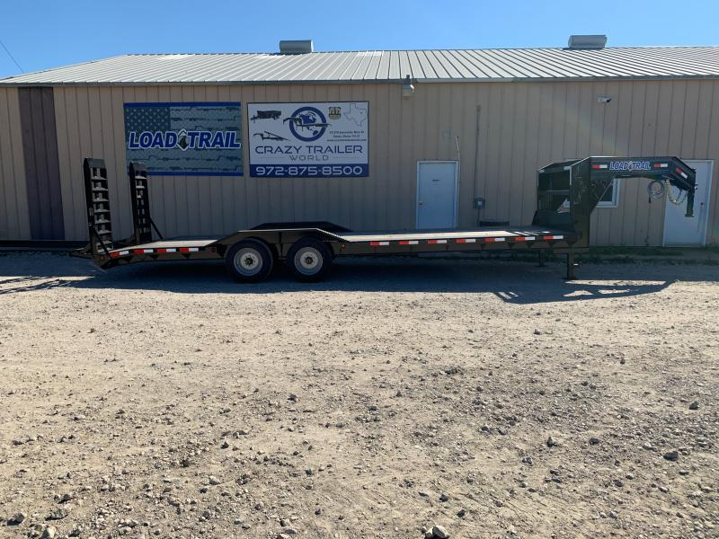 "102"" x 26' Tandem Axle 10"" I-Beam Frame Gooseneck Equipment Hauler"