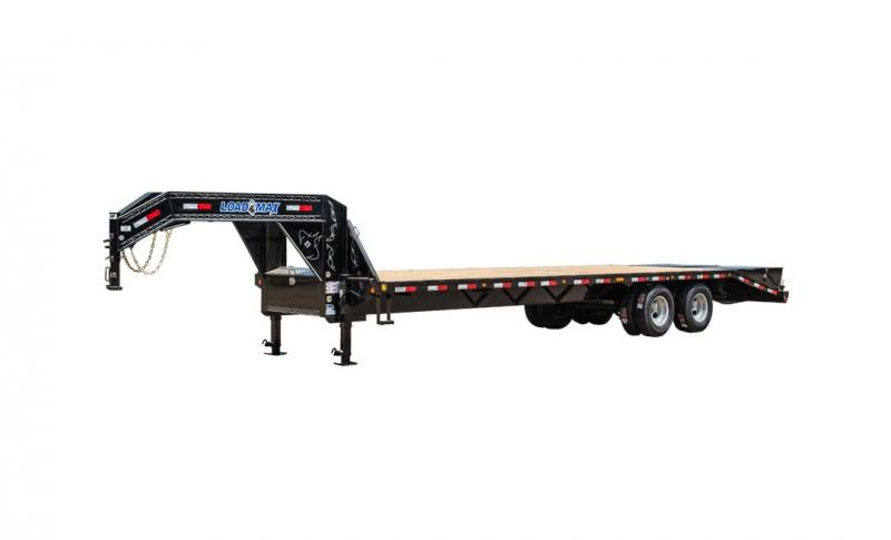 "102"" x 40' Tandem Heavy Duty Gooseneck w/Under Frame Bridge & Pipe Bridge"
