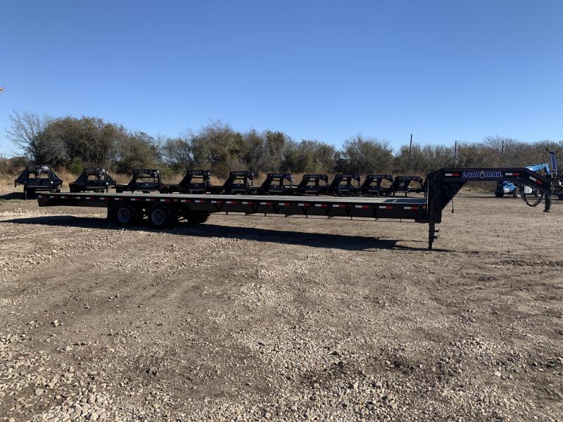 102 x 40' Tandem Heavy Duty Gooseneck w/Under Frame Bridge & Pipe Bridge