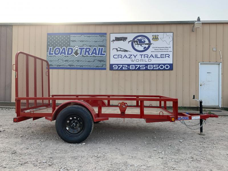 "60"" x 10' Single Axle (2"" x 3"" Angle Frame)"