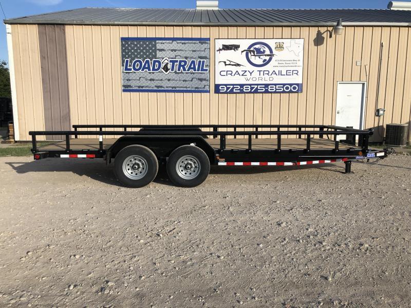 83 x 20' 2021 Load Trail Carhauler 20'
