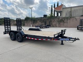 "2022 Load Trail 83""x18' Car Hauler W/ Fold Up Ramps"