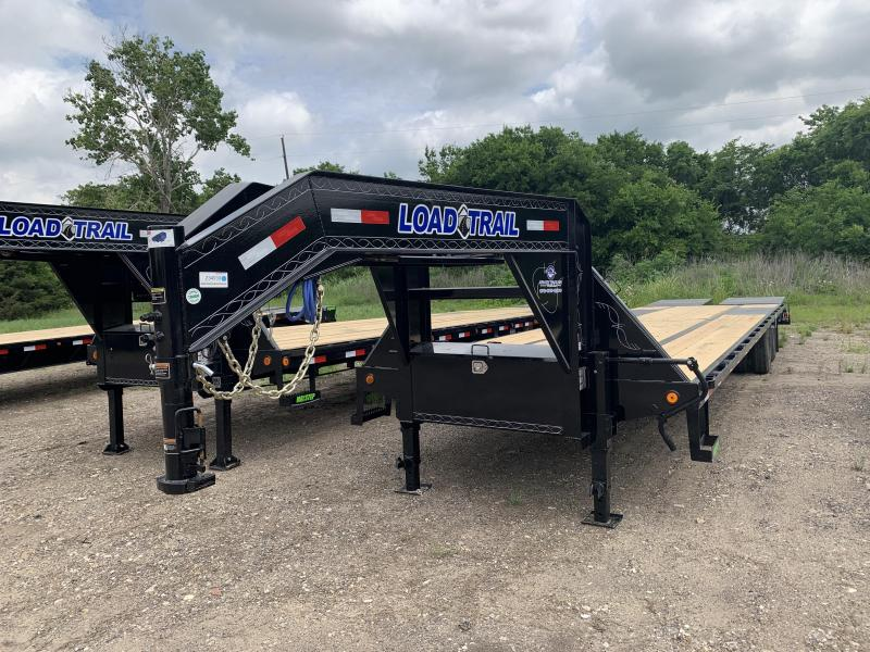 "102"" x 36' Tandem Low-Pro Gooseneck w/Under Frame Bridge & Pipe Bridge"