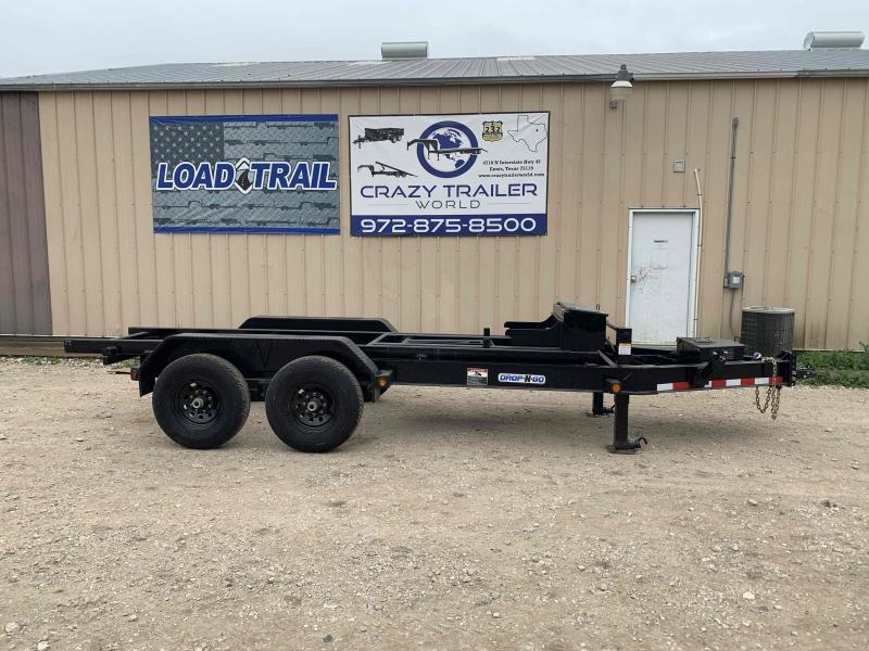 83 x 14' Tandem Axle Bumper Pull Drop-N-Go (Frame Only)